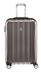 Delsey Luggage Helium Titanium 25 Inch EXP Spinner Trolley