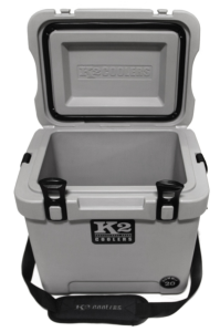 read our review on the K2 Summit 20 cooler as we compare it to the Yeti 20 and Grizzly 20 coolers