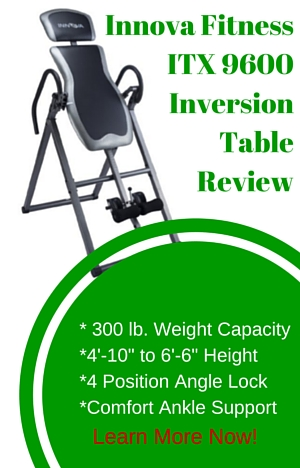 Innova Fitness ITX9600 Inversion Table Review