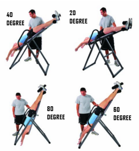 4 Position Locking on the Innova Fitness ITX9600 Inversion Table