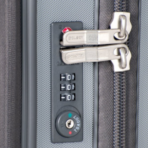 TSA approved combination security locking system