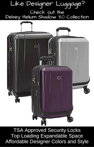 Looking for Designer Luggage at affordable prices? The Delsey Helium Shadow 3.0 Series features all that and more