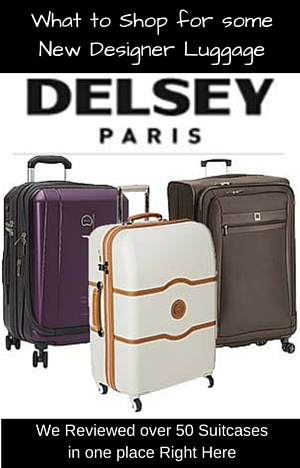 Search over 50 suitcases including soft sides and hard sides by Delsey Luggage with detailed reviews of each