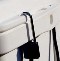 K2 HOLDtight™ Anchor Points with Padlock Option