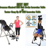 Compare the Ironman iControl 600 Disk Brake System Inversion Table side by side with the Teeter Hang Up EP 960 Inversion Table