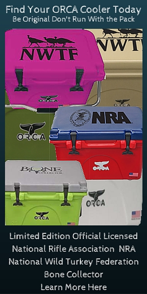 Roto-Molded ORCA Coolers deliver 100% American Made with Lifetime Warranty and 10 day ice retention