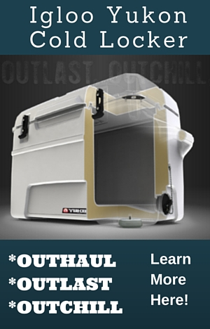 Discover all the value of Igloo coolers in the premium Yukon Cold Locker series available from true 50 quart up to 250 quart capacity.